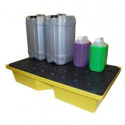 Spill Containment - Drip Tray With Grate Warehouse Ladder