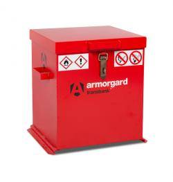 Armorgard Transbank -Lockable Hazardous Storage Box Warehouse Ladder