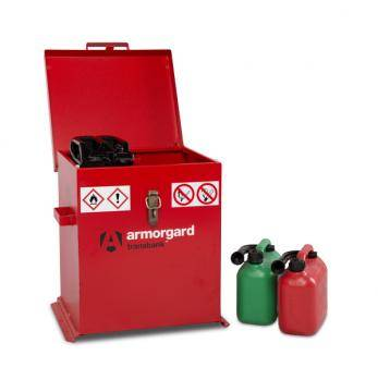 Armorgard Transbank -Lockable Hazardous Storage Box Cage