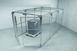 Storage Cage - Painted - WUK800290