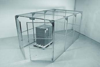 Storage Cage - Painted - WUK800295 Cage