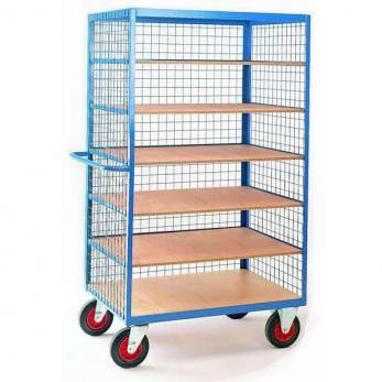 Heavy Duty Steel Shelf Trucks Cage