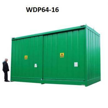 IBC Bunded Storage - (16 Drums Or 4 IBCu0027s) - WDP16-4 Cage  sc 1 st  Security Cages & IBC Bunded Storage - (16 Drums Or 4 IBCu0027s) - WDP16-4 - Security Cage ...