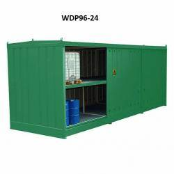 IBC Bunded Storage - (96 Drums Or 24 IBC's) - WDP96-24