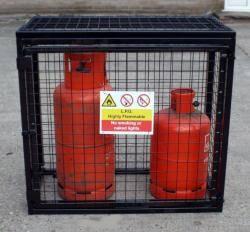 Gas Bottle Cage - 1000x500x900 ( WxDxH) mm