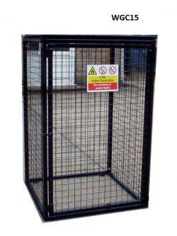 Britgas Gas Bottle Cage - 6 x 19kg Cylinders WGC15 - H1700 x W1000 x D500mm