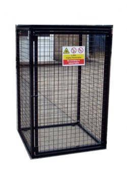 Gas Bottle Cage - 1000x500x1700 ( WxDxH) mm