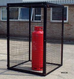 Gas Bottle Cage - Large Cylinder Storage WGC30
