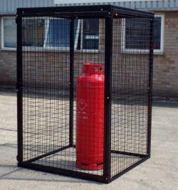 Gas Bottle Cage - Large Cylinder Storage WGC14