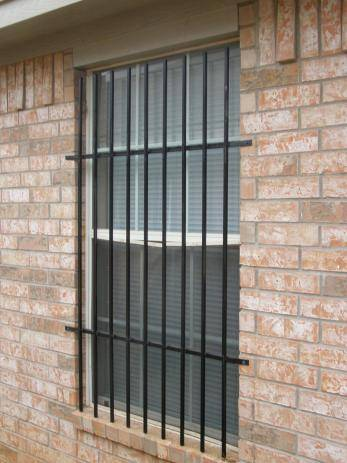 High Level Security Window Grilles  Cage
