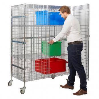 Chrome Wire Distribution Trucks Cage