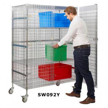 Chrome Wire Distribution Trucks Cage