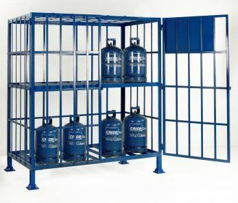 Cylinder Storage Cages - Propane / Calor  Cage