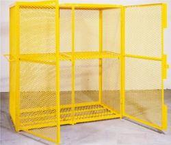 Expanded Mesh Security Cages