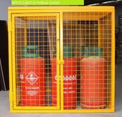 Propane Gas Bottle Cage - WTGC0707-G Warehouse Ladder