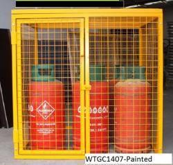 Propane Gas Bottle Cage Warehouse Ladder