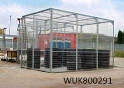 External Storage Cage - Galvanised - WUK800291